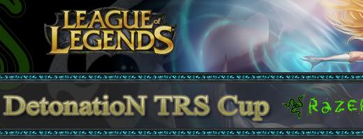 Razer 協賛『TRS 主催 League of Legends Japan DetonatioN TRS Cup』の配信実施中