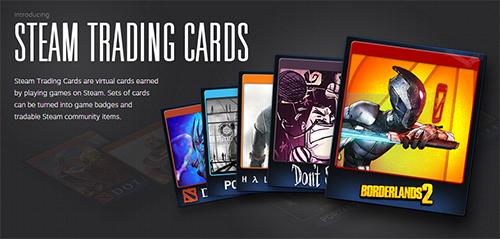 Steamで対応ゲームをプレーしてカードを手に入れる『Steam Trading Card』システムを全Steamユーザーが利用可能に