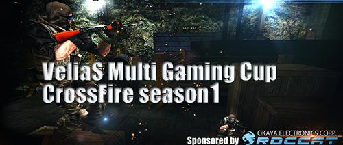 『VeliaS Multi Gaming Cup CrossFire season1』でNfN_Veliasが優勝