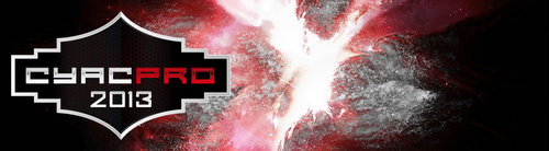 プロ志向のゲーム大会『CyAC PRO 2013 Summer』オフライン決勝が8/30(金)と8/31日(土)に開催