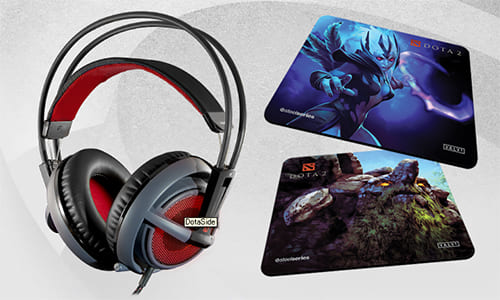 SteelSeries がゲーミングヘッドセット『SteelSeries Siberia v2 Illuminated Gaming Headset Dota 2 Special Edition』を発表