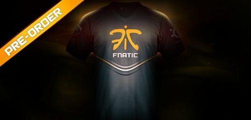 プロゲームチームFnaticが新しいチームユニフォームを発表