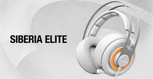 7.1ch バーチャルサラウンドサウンド対応のゲーミングヘッドセット『SteelSeries Siberia Elite Gaming Headset』の予約受付開始