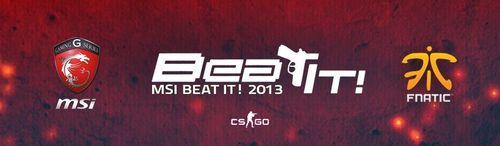 『MSI Beat it! 2013』中国予選 決勝大会が10/4(金)~10/6(日)に開催
