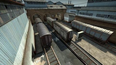 競技向けにデザインされた Counter-Strike: Global Offensive マップ de_train_ve がアップデート