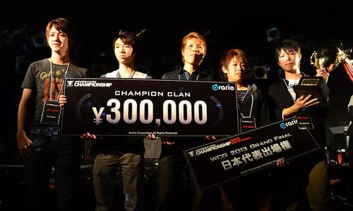 『World Cyber Games 2013』日本予選『CrossFire CHAMPIONSHIP 2013 Autumn』決勝トーナメントでNfN_VeliaSが優勝