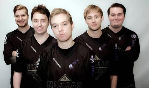 プロゲームチームNinjas in Pyjamas の密着番組をスウェーデンのテレビ局TV6が放送