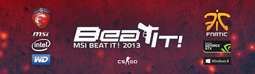 『MSI Beat it! 2013』World Finalsが11月23日(土)~24日(日)に中国・北京で開催