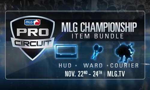 DOTA2のゲーム内アイテム『MLG Championship Bundle』が販売開始、1購入につき2.5ドルが賞金に還元