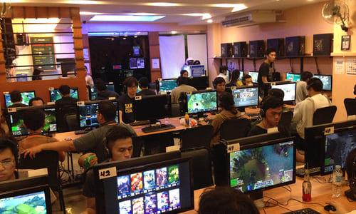 フィリピン・セブのゲーミングカフェ『Mineski Portal Cebu』訪問記、人気タイトルはDOTA2