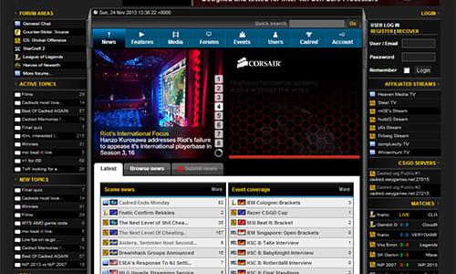 eスポーツサイト『Cadred』と『TEK9 Networks』が閉鎖し『Esports Heaven』に統合