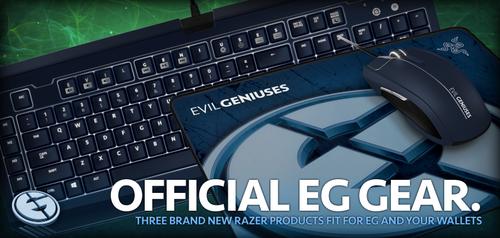 『Razer』がプロゲームチーム Evil Geniusesモデルのゲーミングデバイスを発売開始