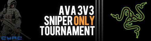 『AVA 3v3 Sniper Onlyトーナメント 爆破部門』を11月30日(土)21時より開催