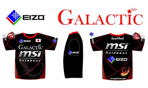 EIZOが日本の『Alliance of Valiant Arms』トップチームGalacticとのスポンサード契約を締結