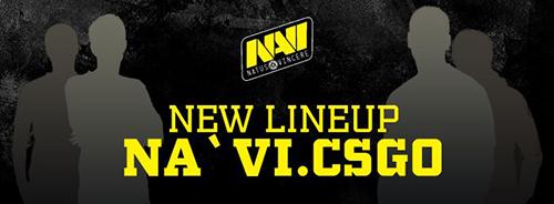 Natus VincereがCS:GO部門のラインナップを変更、kibaken、ceh9が脱退しEdward、GuardiaNが加入