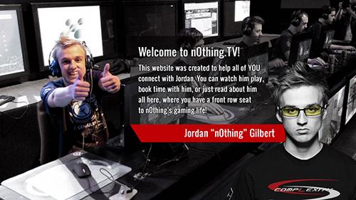 compLexity GamingのCounter-Strike: Global Offenisive部門に所属するプロゲーマーn0thing選手が自身の公式サイト『n0thing.tv』をオープン