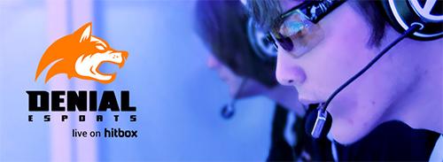 ゲームのストリーミング配信サービス『hitbox』がプロゲームチーム『Denial eSports』のスポンサーに
