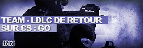 LDLCが新たな Counter-Strike: Global Offensiveチームを発表