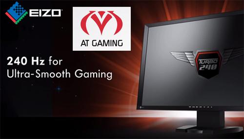 モニタメーカー『EIZO』がプロゲームチーム AT Gamingのスポンサーに