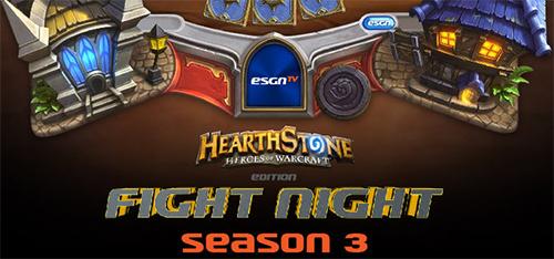 『Hearthstone: Heroes of Warcraft』大会『Fight Night: Season3-4』が日本時間の2月11日(水)朝5:30からスタート