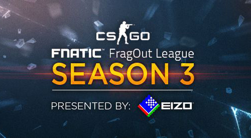 Counter-Strike: Globaloffensive大会『Fnatic FragOut League Season 3』のトーナメント組み合わせ発表