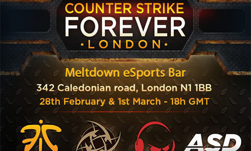『Counter Strike Forever: London』でNinjas in Pyjamasが優勝