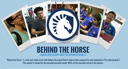DOTA2の世界大会『The International 3』に挑む Team Liquidのドキュメンタリムービー『Behind The Horse』が公開