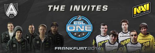 賞金総額15万ドルのDOTA2大会『ESL One Frankfurt 2014』にAlliance、Natuce Vincereが招待出場決定