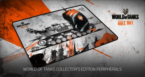 『Razer』が『World of Tanks』モデルのゲーミングマウスとマウスパッドを発表