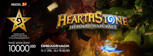 賞金総額$10,000の『NESCAFÉ 3in1 Hearthstone tournament』でGaaraが優勝