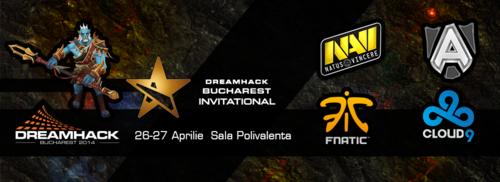 DOTA2の招待制トーナメント『DreamHack Bucharest 2014 Invitational』が4月26日(土)、27日(日)に開催