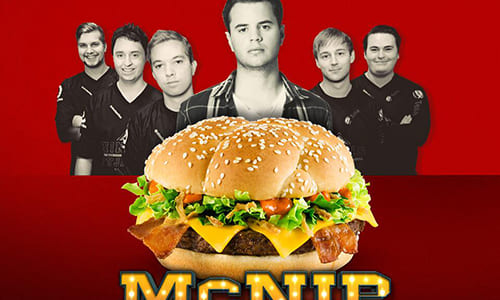 """スウェーデンのマクドナルドでプロゲームチーム『Ninjas in Pyjamas』のネーム入りハンバーガーが""""respawn""""(再販開始)"""
