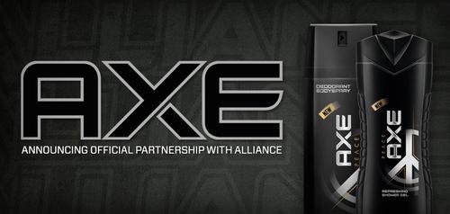 プロゲームチーム『Alliance』が男性化粧品ブランド『AXE』とのスポンサー契約締結を発表