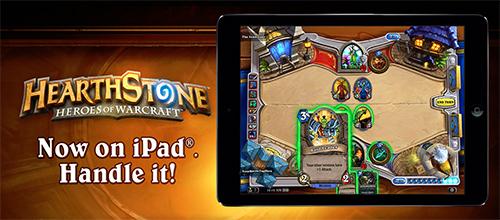 オンラインカードゲーム『Hearthstone: Heroes of Warcraft』のiPad版が正式リリース