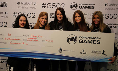 『Logitech G - CS: GO Ladies』で Bad Monkey Gaming が優勝