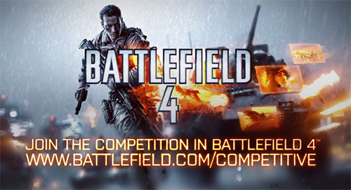 ムービー『Battlefield 4 Official Competitive Gaming Video』
