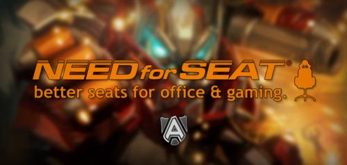 プロゲームチーム『Alliance』が『NEEDforSEAT』と公式ゲーミングチェアサプライヤー契約を締結