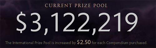 DOTA2世界大会『The International 4』の賞金総額が1日で300万ドルを突破、単一ゲーム大会での最高賞金額記録を更新