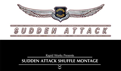 フラグムービー企画『Sudden Attack Shuffle Montage』の素材シーン募集受付中