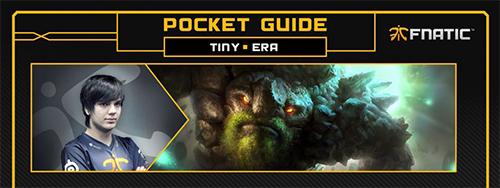 FnaticのEra選手によるDOTA2ヒーローガイド Tiny 編が公開