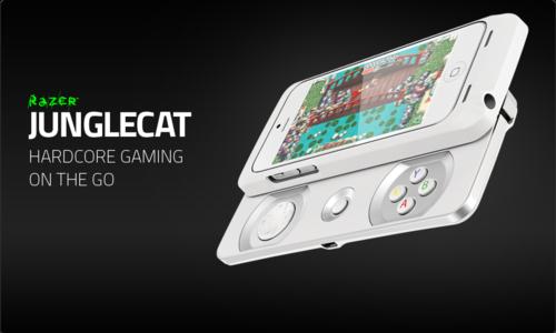 『Razer』がiPhone5/5S用のゲームコントローラー『Razer Junglecat』を発表