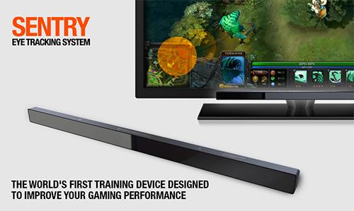 『SteelSeries』 がゲーマー向けのアイトラッキングシステム『SteelSeries Sentry』を発表
