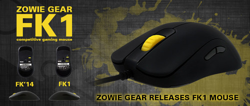 ゲーミングマウス『ZOWIE FK1』の予約が秋葉原・PC Arkにて受付開始、9/13(土)より発売開始