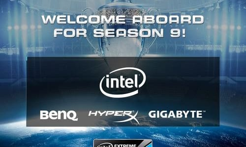 『Intel Extreme Masters Season 9』のスポンサーがIntel, BenQ, HyperX, GIGABYTEに決定