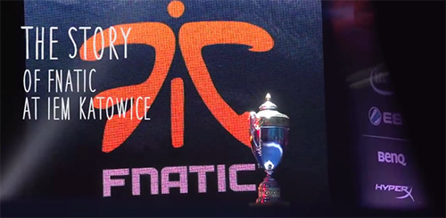ムービー『The Story of Fnatic at IEM Katowice』