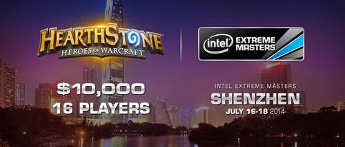 『Intel Extreme Masters Season9 Shenzhen』Hearthstone部門が賞金10,000ドルで開催