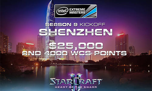 『Intel Extreme Masters Season9 Shenzhen』StarcraftII部門 Stage2のグループ分け発表