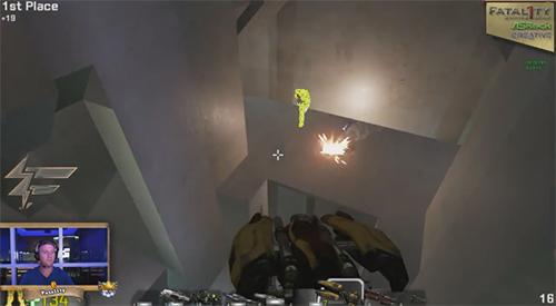 FPS 1vs1の世界王者Fatal1ty氏によるUnreal Engine4版『Unreal Tournament』プレアルファ版のプレー動画が公開