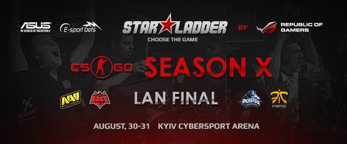 『SLTV StarSeries Season X』CS:GO部門LANファイナルで Fnatic が優勝