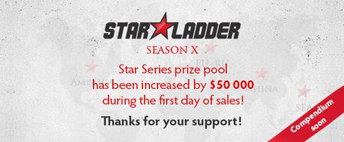 『SLTV Star Series Season X』DOTA2部門の賞金総額が8万ドルと発表、アイテム売上で早くも6万ドル増額